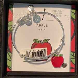 Alex and Ani apple bracelet